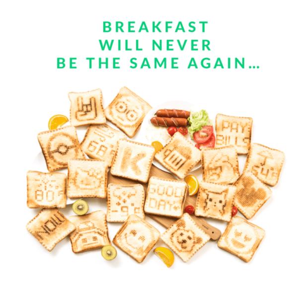 進擊的烤土司機 Toasteroid :生活或許一成不變,但早餐的土司不行! 01