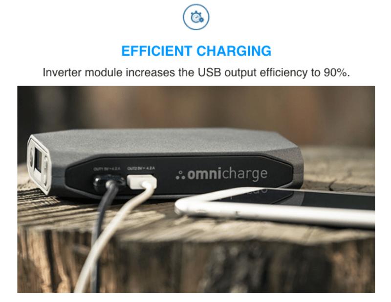 能改變電壓與交直流電的智慧行動電源 Omnicharge,史上最輕巧! 6