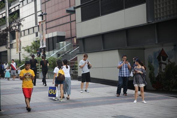 鏡頭直擊/捕捉台南各處 Pokemon GO 「街頭訓練師」 IMG_3830