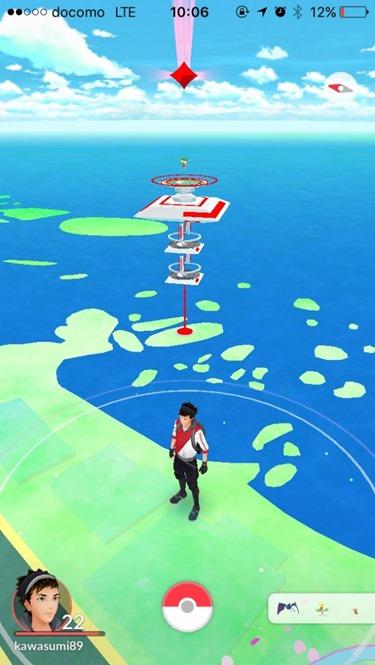 難攻難守,堪稱日本最危險的 Pokemon GO 道館之一竟然設在這裡 Pokemon-GO-map-630x1118