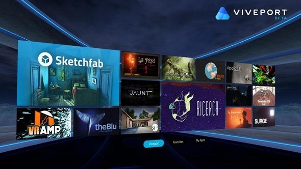 HTC宣布推出虛擬實境應用商店 Viveport,更多元的 VR 應用內容陸續登場 dd25e466-f13e-4d8c-af59-5e5705dd0b31