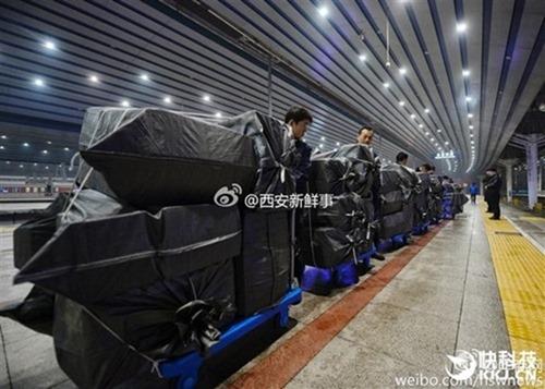 速度速度!中國快遞業者包下高鐵、動車解決龐大貨運問題 20161111205453f11gwwqdksn
