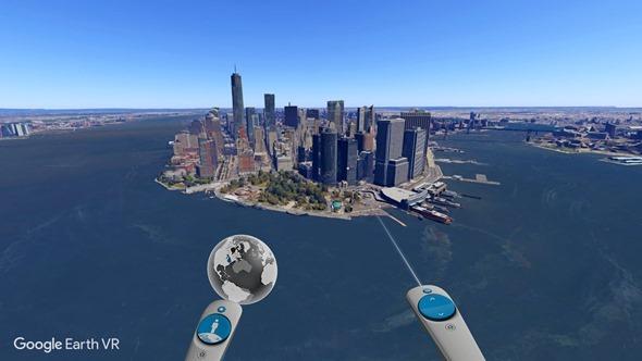 Google推出Google Earth VR 透過HTC VIVE帶你走訪全世界 Google-Earth-VR-5