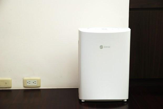 對抗過敏最聰明的 BRISE C200 空氣清淨機 (黃瑽寧醫師介紹) DSC_0034
