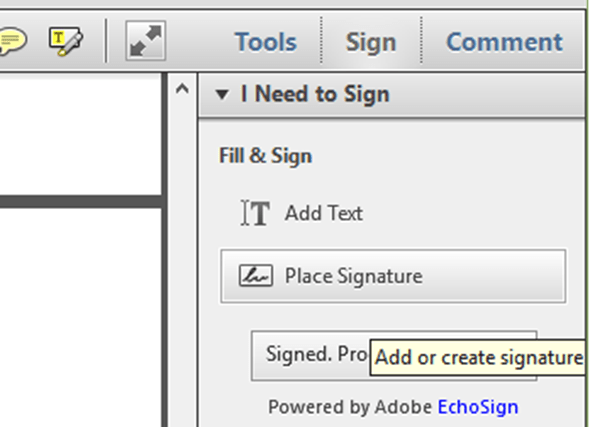 辦公應用/如何在 PDF 文件中輸入文字及簽名 create-sign
