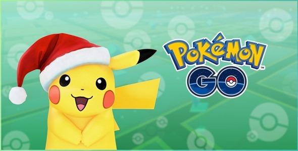 Poekmon GO新寶可夢登場!同場加映聖誕限定耶誕皮卡丘 holiday-pikachu