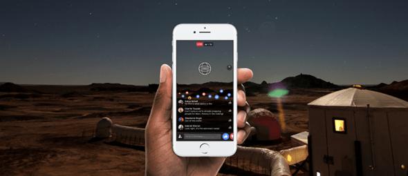 Facebook 360度直播上線,與國家地理頻道合作探索模擬火星生活 live-header