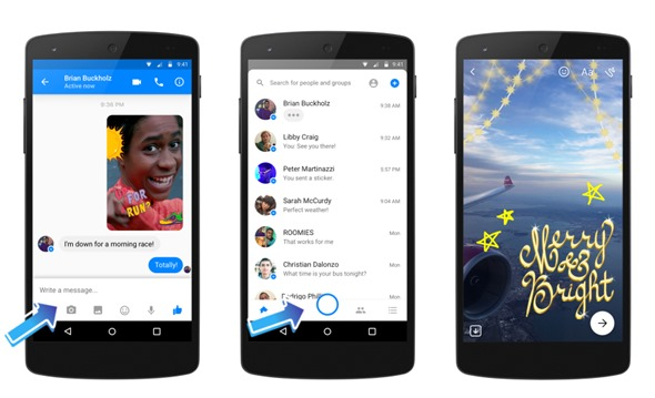 Facebook Messenger Camera