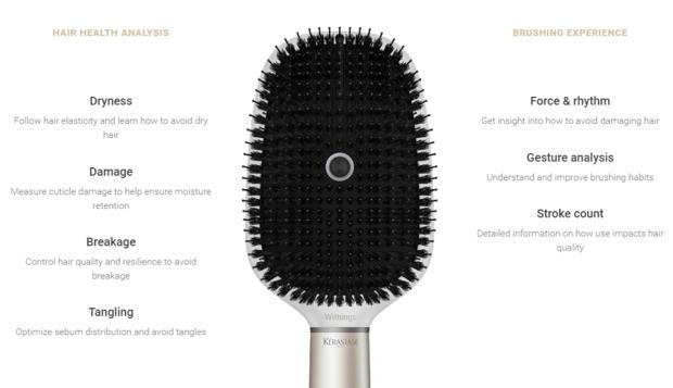 CES 2017報導:Withings推出首款智慧梳子 Hair Coach,梳一下立刻分析髮質健康狀況 4