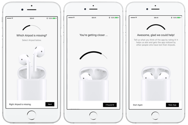 Apple 強制下架 Finder for AirPods App,傳言將推出類似功能 finder-for-airpods