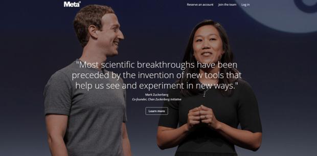 Facebook 創辦人夫妻買下論文搜尋引擎 Meta,數百萬科學論文免費查 meta