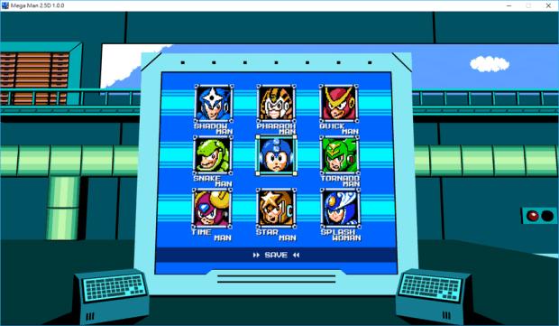 洛克人《MegaMan 2.5D》PC 版免費下載,全新場景、關卡與雙人協同模式重現經典 008