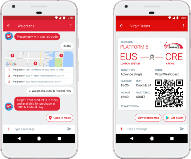 Android 簡訊 App 升級為「Android Messages」可傳送圖片、影片、地標等資訊 Android-Messenges
