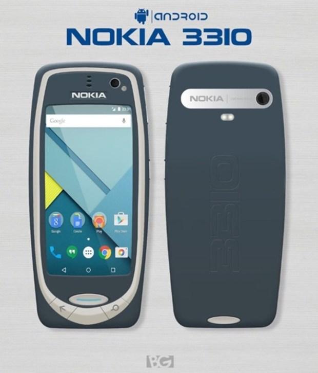 MWC 2017:談談關於 Nokia 3310 復刻神機的消息與傳言,你覺得應該是怎麼樣呢? Nokia-3310-Android-imagenes-concepto-700x820-1