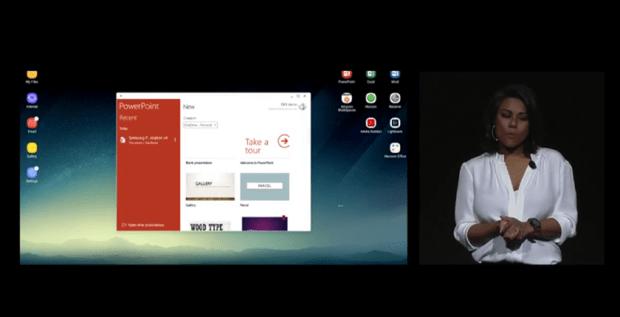 超強配件 Samsung DeX行動工作站,讓 Galaxy S8/S8+ 直接變身桌上電腦 089-1