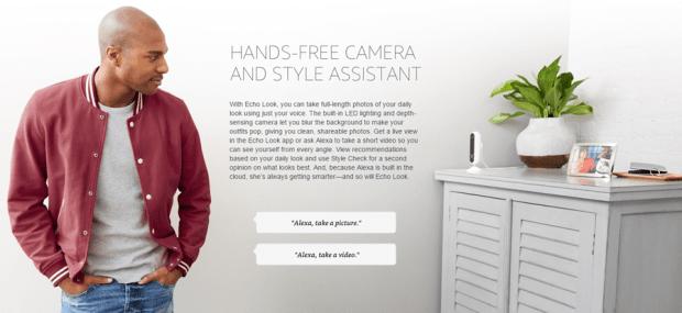 Amazon Echo Look 智慧穿搭語音助理,為打扮做最合適的選擇與專業建議 007-1
