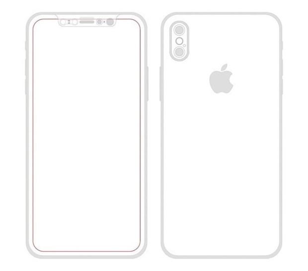 iPhone 8 工業設計圖曝光,機身構造完全揭露 iPhone-8-%E7%B4%85%E5%A4%96%E7%B7%9A-1