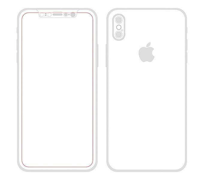 iPhone 8 紅外線