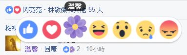 Facebook 母親節心情按鈕 溫馨