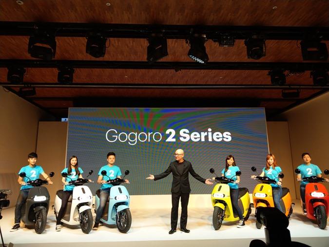 Gogoro 2 驚艷登場!彭湃動力、極致個性化配置設計五色齊發,最低不到5萬! IMAG0214