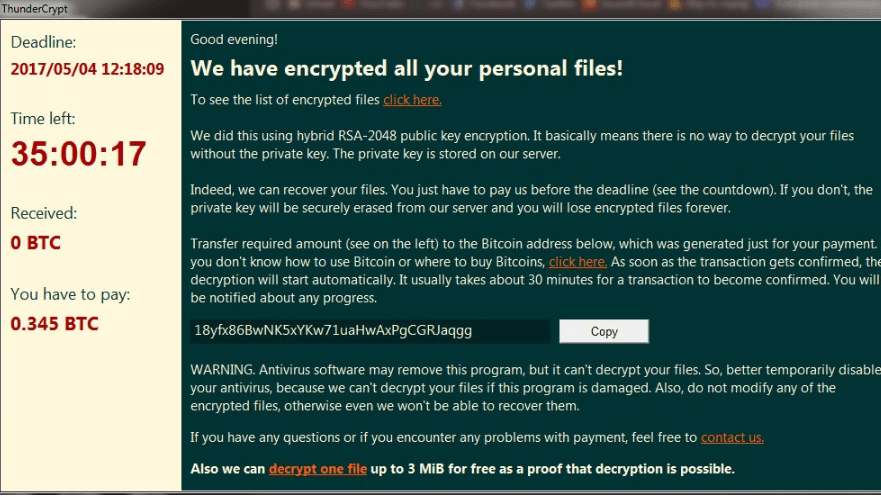 ThunderCrypt-ransomware