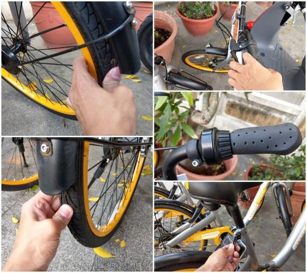 體驗心得:台南 oBike 無樁共享自行車試騎,自由停車無拘束 1