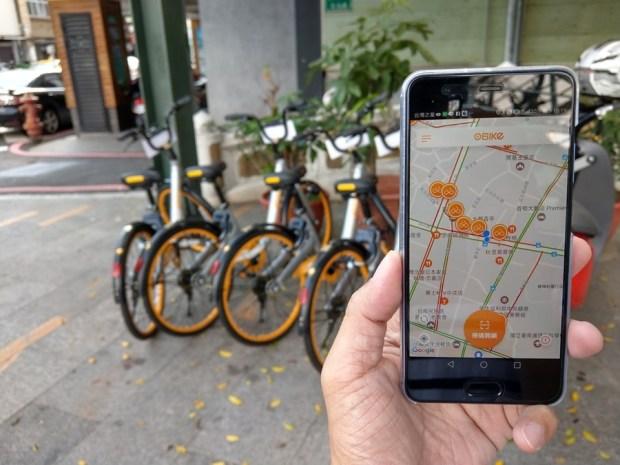 體驗心得:台南 oBike 無樁共享自行車試騎,自由停車無拘束 IMAG0828