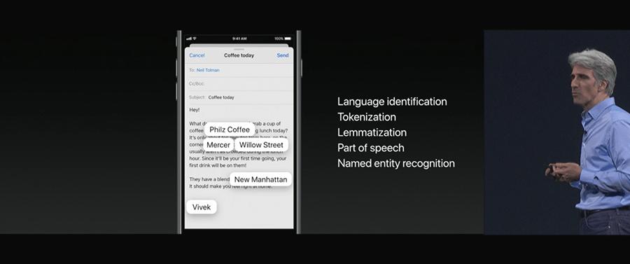 iOS 11 帶來 11 項重大更新,強化人工智慧應用、行動支付以及更聰明的 Siri WWDC2017-218