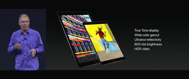 Apple 推出 10.5 吋 iPad Pro,體積縮小螢幕更大,設計取向朝 PC 看齊 WWDC2017-245