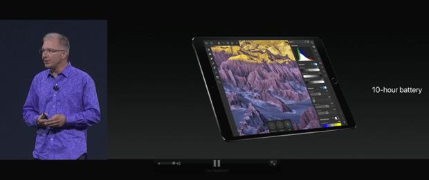 Apple 推出 10.5 吋 iPad Pro,體積縮小螢幕更大,設計取向朝 PC 看齊 WWDC2017-262
