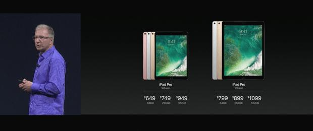 Apple 推出 10.5 吋 iPad Pro,體積縮小螢幕更大,設計取向朝 PC 看齊 WWDC2017-270