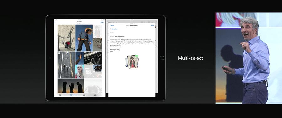 Apple 推出 10.5 吋 iPad Pro,體積縮小螢幕更大,設計取向朝 PC 看齊 WWDC2017-279