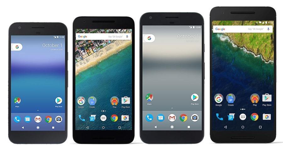 條款更動,Google Pixel、Nexus 推出 3 年後將不再保證更新,但 iPhone 5S 四年了還可更新 iOS 11 pixels-nexuses