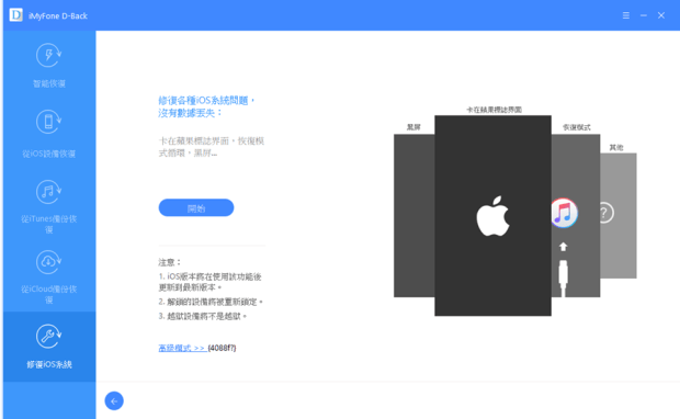 iOS 檔案救援軟體 iMyFone D-Back,輕鬆找回遺失誤刪的照片/簡訊/WhatsApp/Line/Wechat訊息 038-1
