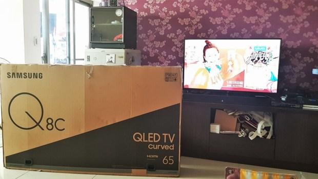 幾可亂真的超真實色彩!Samsung Q8C 65 吋 QLED 量子點電視開箱、評測 20170620_124744