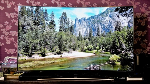 幾可亂真的超真實色彩!Samsung Q8C 65 吋 QLED 量子點電視開箱、評測 7033315