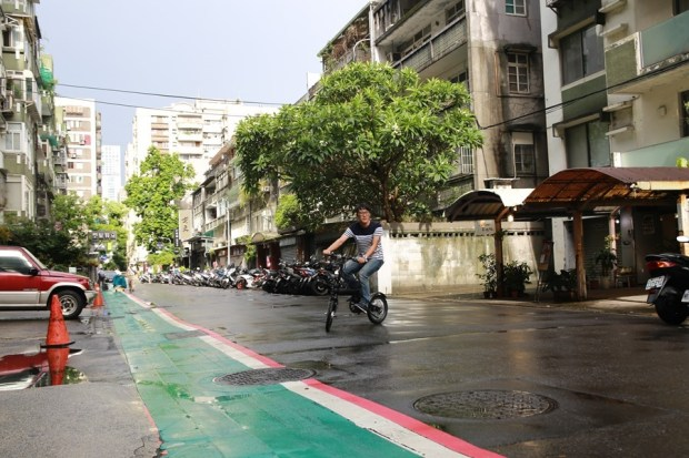 越騎越賺錢的自行車!米騎生活體驗門市+騎記電助力摺疊自行車國際版試乘分享 IMG_6836