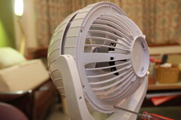 「Day Plus 空氣濾淨創風機」電扇+空氣清淨機合體 製造乾淨空氣、節省居家空間 IMG_6945
