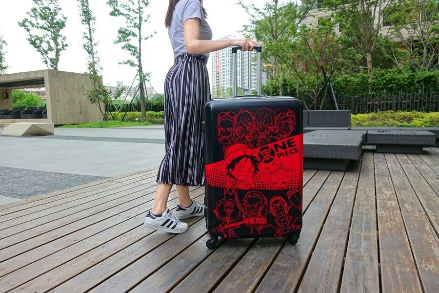 遠傳 航海王 海賊王行李箱