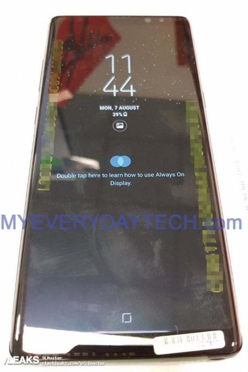 三星 Galaxy Note8 、S Pen 實機照流出!帶你搶先一步看 galaxy-note8-leak-2
