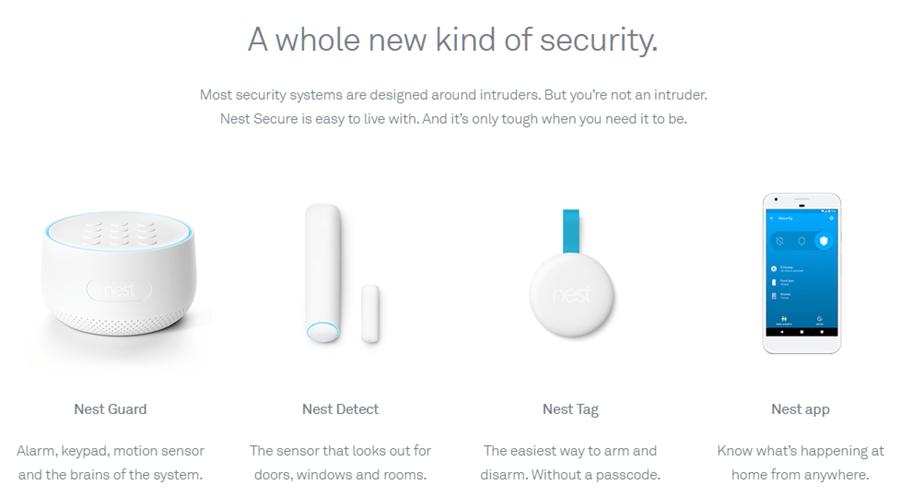 Nest Secure 居家安全防護系統
