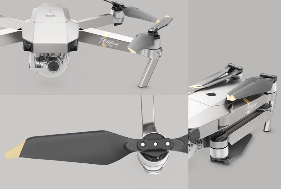小改款 DJI Mavic Pro 鉑金版推出,噪音更小、飛行時間長達 30 分鐘 020