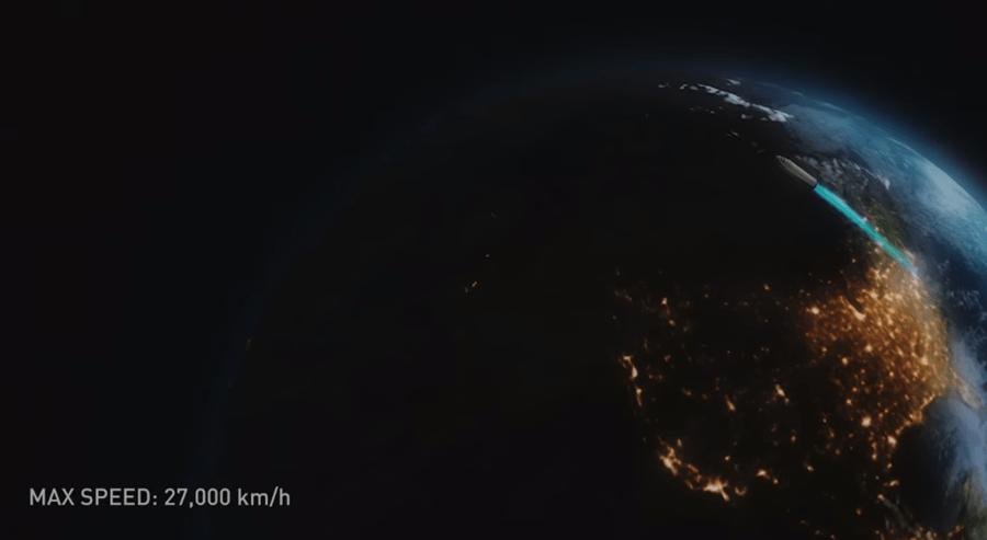 特斯拉創辦人又有狂想法! 用火箭 30 分鐘送你到地球大部分城市 image-26