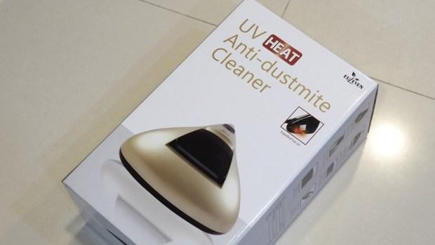 EULEVEN 有樂紛熱風塵螨吸塵器,搭配 UVC 紫外線、60 度熱風,清除床上塵螨看得見 A301971