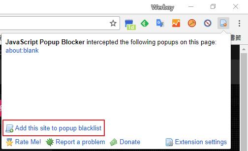 JavaScript Popup Blocker 擋廣告套件,阻擋擾人的彈出/背投廣告(Chrome) Image-016