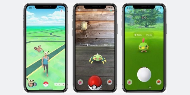 《Pokemon Go》完美支援 iPhone X 螢幕,Niantic 新作《哈利波特》預計明年登場 pokemon-go-iphone-x