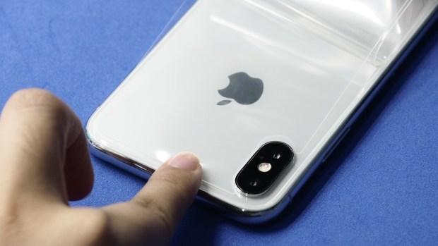 iPhone X 金屬邊框居然超脆弱!推薦你到這邊來體驗超完整包膜 B132159