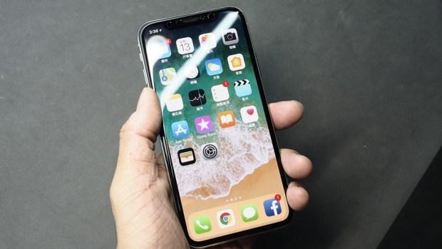 iPhone X 金屬邊框居然超脆弱!推薦你到這邊來體驗超完整包膜 B132173