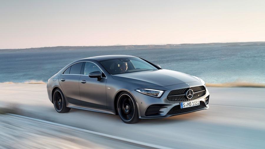 全新第三代 Mercedes-Benz CLS Coupe 正式下線 CLS-front