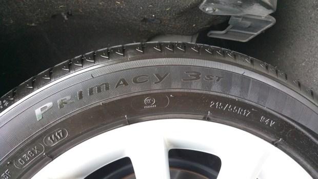 輪胎上的數字,你知道是什麼嗎? IMAG0889